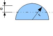 Flächenträgheitsmoment Halbkreisquerschnitt